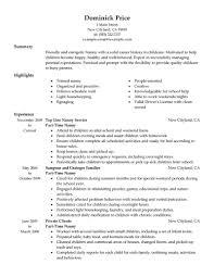 Sample Babysitter Resume by Pet Sitting Resume Sample Virtren Com