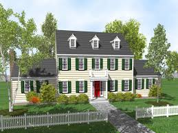 colonial home designs colonialcolonial plans architectural