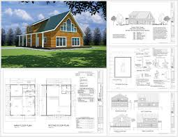 1 Bedroom Log Cabin Floor Plans by Free Sample Cabin Plan H235 1260 Sq Ft 1 Bedroom 1 Bath Main 600