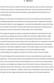 Research on the topics of the experience economy  brand experience and experiential marketing emphasizes the DocPlayer