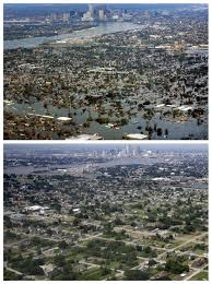 Ninth Ward New Orleans Map by Then And Now New Orleans 10 Years After Hurricane Katrina