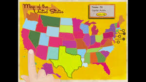 Usa States And Capitals Map by Learn The States Usa Capital And Geography Fact Learning Ipad
