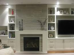 modern travertine fireplace silver travertine home pinterest