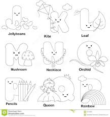 coloring pages alphabet