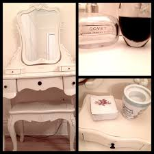 White Shabby Chic Dressing Table by My Vintage Shabby Chic Dressing Table Krissie Youtube