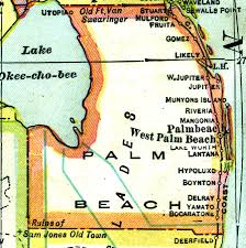 Map Of Florida Cities And Towns by Florida Maps Palm Beach County
