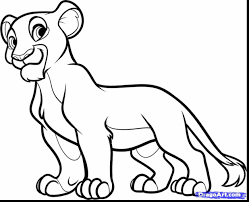 fabulous how to draw nala from the lion king as kid with lion king