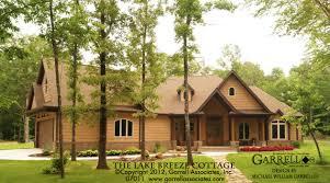 lake breeze cottage house plan house plans by garrell associates