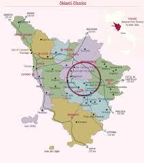 Tuscany Map Tuscany Wine Tours Wine Link Italy