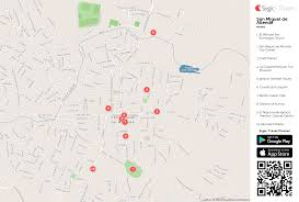 Map Of Juarez Mexico by San Miguel De Allende Printable Tourist Map Sygic Travel