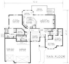 Ranch Style House Plans With Basement by 120 Best New House Floor Plans Images On Pinterest House Floor