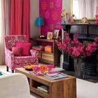 Living Room At Bright And Colorful Living Room Design Ideas Foto ...