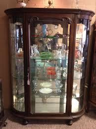 Oak Curio Cabinet Curio Cabinet Victorian Style Curio Cabinets White Cabinet