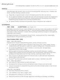 Sales Manager Sample Resume by Retail Sales Manager Resume Samples Free Resumes Tips