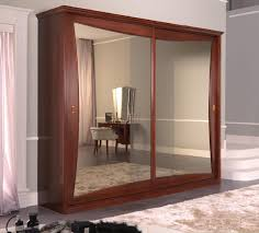 Wardrobes With Sliding Doors Traditional Wardrobe Wooden Lacquered Wood With Sliding Door