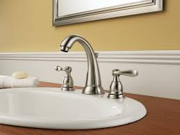 bathroom faucets shop delta stainless handle high arc kitchen
