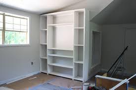 Building Kitchen Cabinet Boxes Built In Shelves Diy 16 Enchanting Ideas With Project Bonus Room