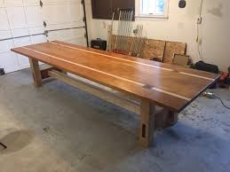 mahogany and maple dining table for my brother album on imgur mahogany and maple dining table for my brother