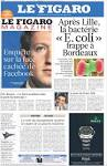 Newspaper LE FIGARO (France). Newspapers in France. Saturdays.