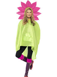 Flower Power Halloween Costume Flower Party Poncho Festival Costume 27607 Fancy Dress Ball