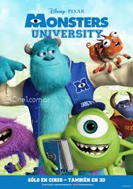 Monsters University (2013) [Latino]