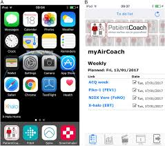 myaircoach the use of home monitoring and mhealth systems to