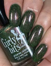 ehmkay nails girly bits colors of the month grandma got run over