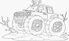 Old Ford Truck Coloring Pages - monster jam coloring pages coloringsuite com