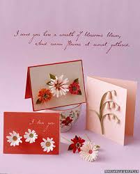 Handmade Farewell Invitation Cards How To Make Quilled Cards Martha Stewart