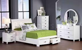 White Modern Bedroom Furniture Set White Contemporary Bedroom Home Interior Design Ideas