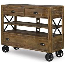 river road wood media chest tv stand in distressed natural