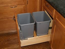 kitchen kitchen cabinet trash can desigining home interior