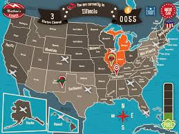 United States Map Delaware by Explore The States With Geography Drive Usa Spinlight Studio