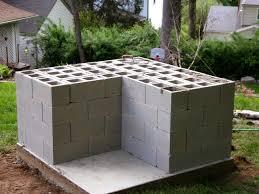 Garden Kitchen Ideas Home Design Building Cinder Block Garden Roofing Architects