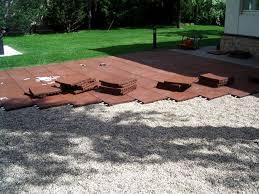 compact outdoor rubber tiles for patio 147 rubber outdoor flooring