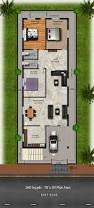 East Wing Floor Plan by Download Free Plans 260 Sq Yds 30x78 Sq Ft East Face House 3bhk