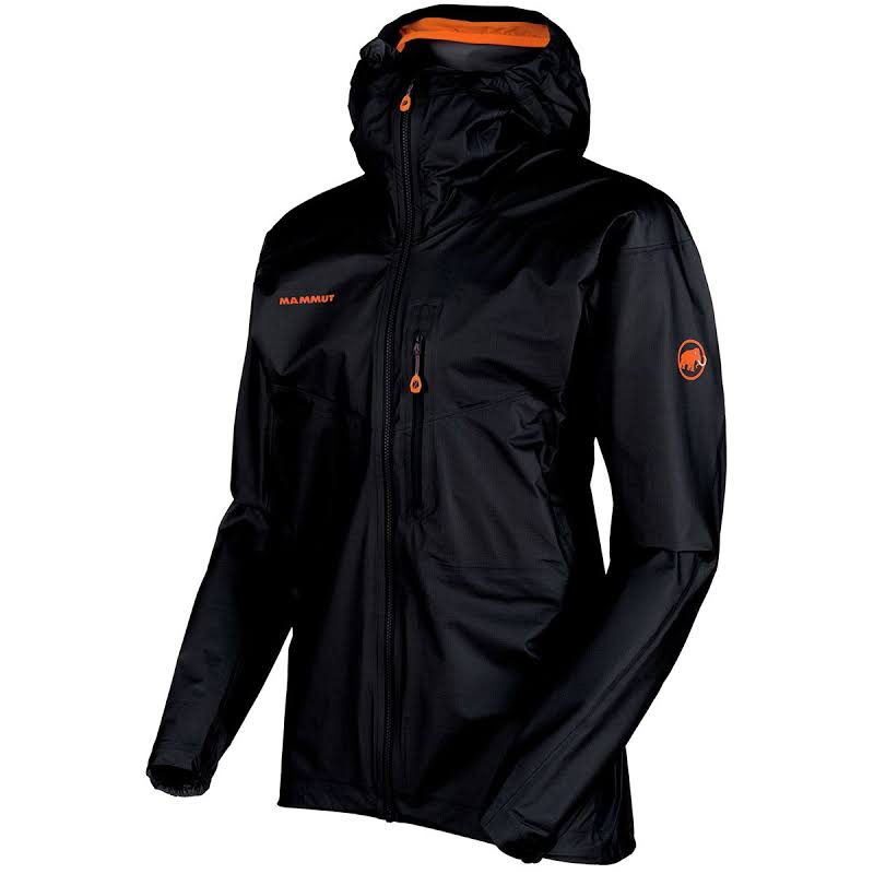Mammut Nordwand Light HS Hooded Jacket Black Large 1010-25951-0001-115