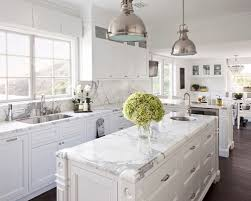 More Blue Kitchens For The Best Wealth Abundance For Blue Kitchen - White kitchen backsplash ideas