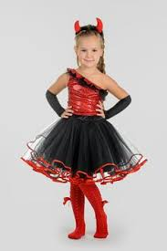 Halloween Girls Costume Girls Lil Devil Costume Party Halloween Costumes Ideas