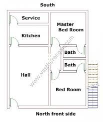 House Layout Design As Per Vastu North Facing House Plan 2 Vasthurengan Com