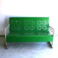 furniture cool glider bench for your outdoor u2014 cafe1905 com