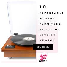 affordable modern furniture 10 affordable modern furniture pieces we love on amazon