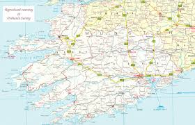 Map Of Ireland And England The Irish Ancestral Research Association Tiara Links