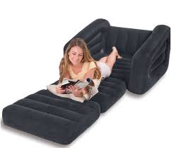 Intex Inflatable Pull Out Sofa by Free Shipping Intex 68565 Single Inflatable Sofa U0026 Bed Lazy Sofa