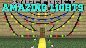 minecraft amazing lights mod get decorating mod showcase youtube