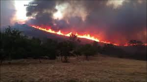 Willow Wildfire California by Wildfire Forces Evacuation Of 2 000 From California Town
