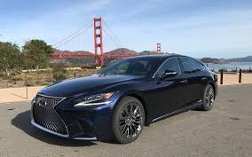 lexus made in canada 2018 lexus ls 500 more refined and more dynamic review