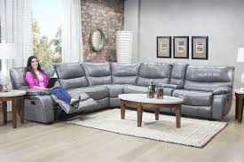 mor furniture for less the lotus gray leather seating reclining