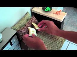 how to make a doll bed easy doll crafts youtube