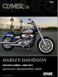 harley fxd fxdb fxdl fxdf dyna 2006 2011 service repair manual